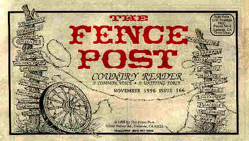 The Fence Post Country Reader